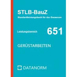 651 Gerüstarbeiten Datanorm...