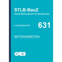 631 Betonarbeiten GAEB -...