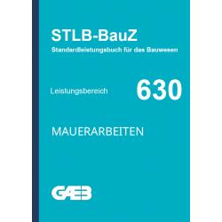 630 Mauerarbeiten GAEB -...